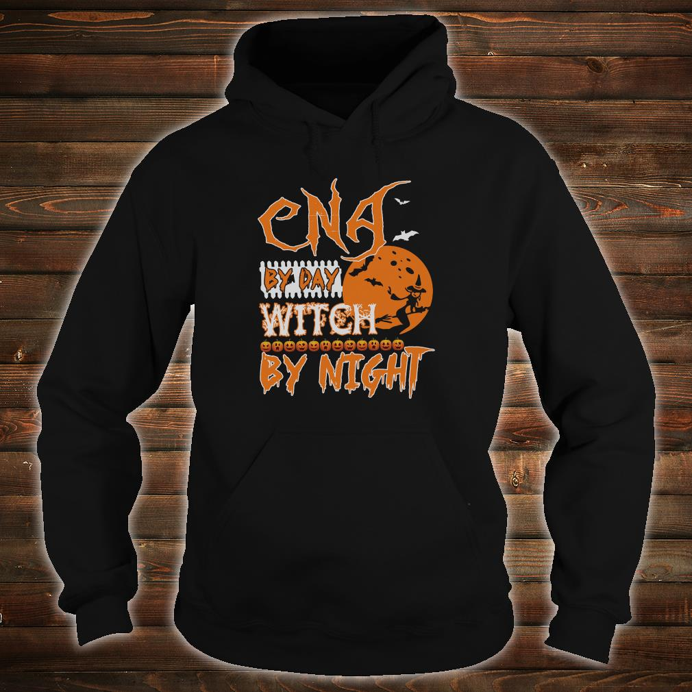 CNA by day witch by night shirt hoodie