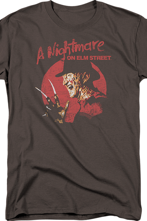 Distressed Freddy Krueger Nightmare On Elm Street Shirt