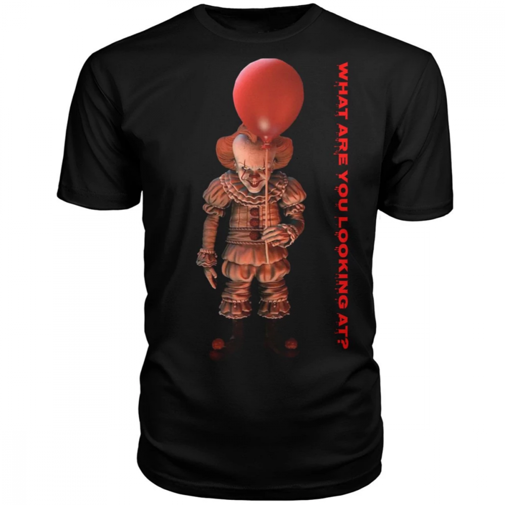 IT And Red Balloon What Are You Looking At Shirt
