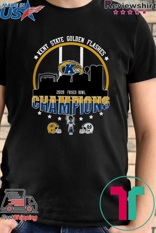 Kent State Golden Flashes 2019 Frisco Bowl Champions 2019 Shirt