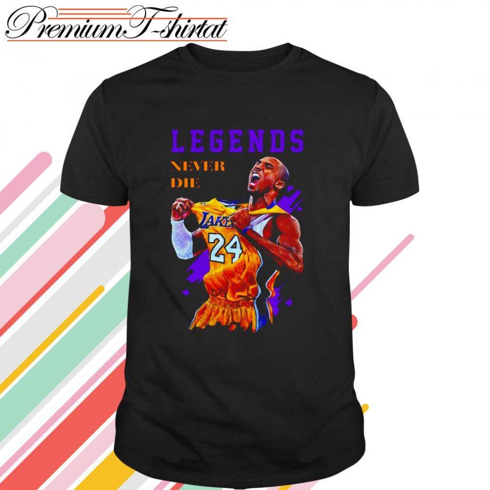 Kobe Bryant Basketball Legends Never Die Shirt