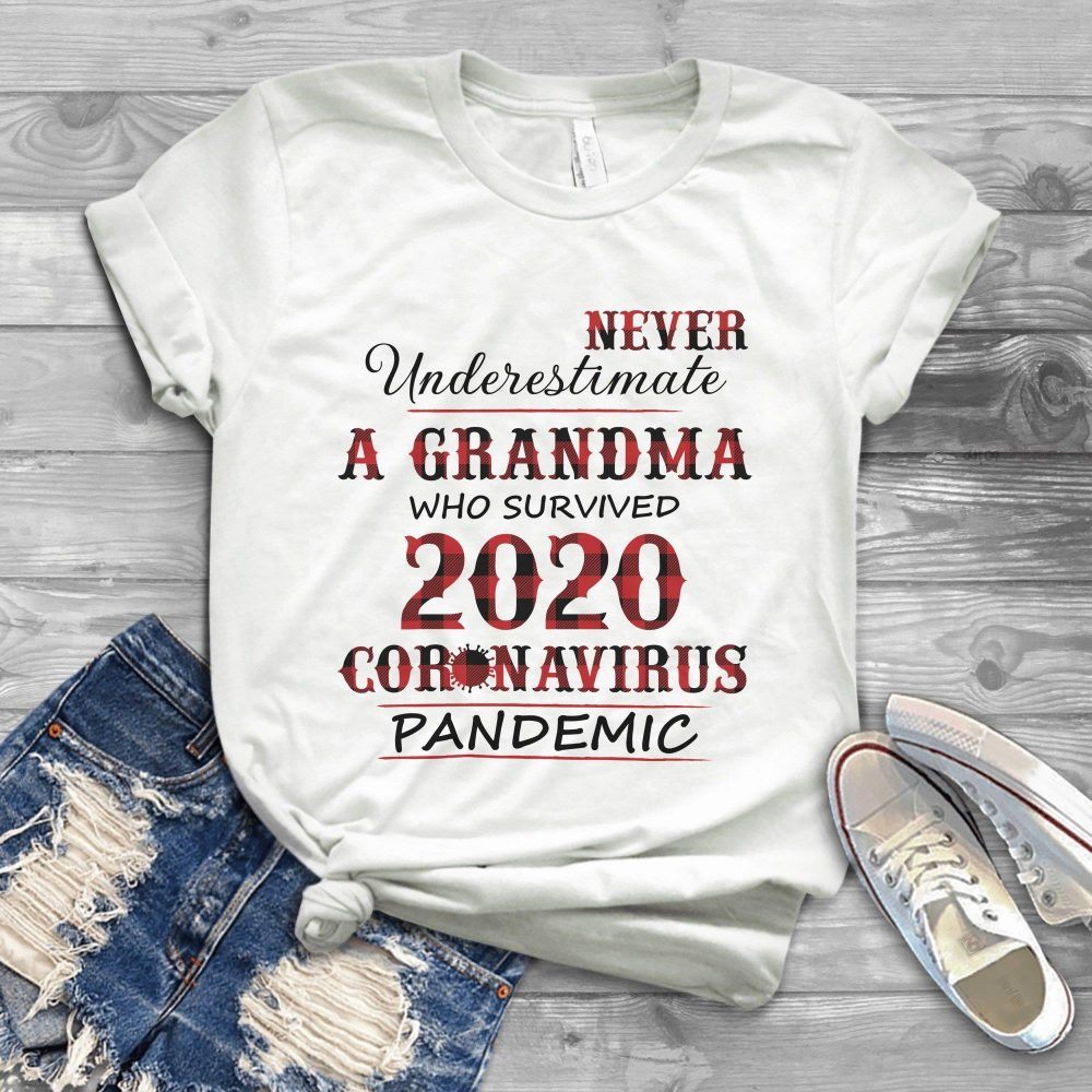 Never Underestimate An Old Man Who Survived 2020 Coronavirus Pandemic Shirt