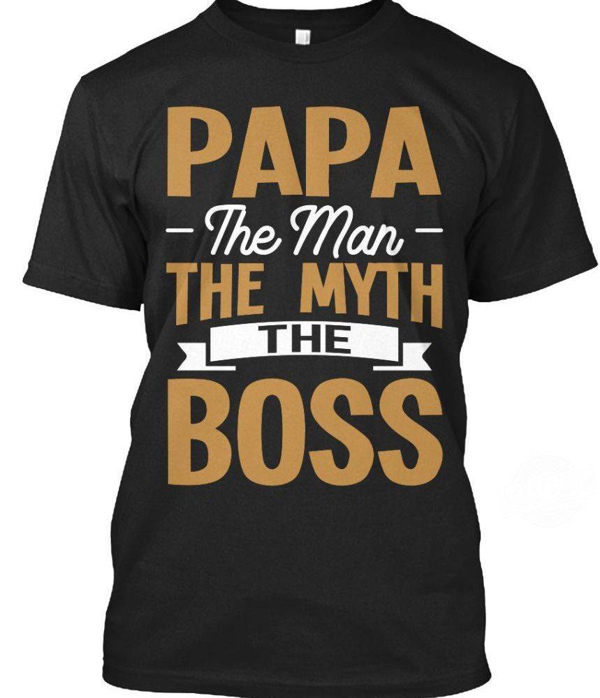 Papa The Man The Myth And The Boss Shirt