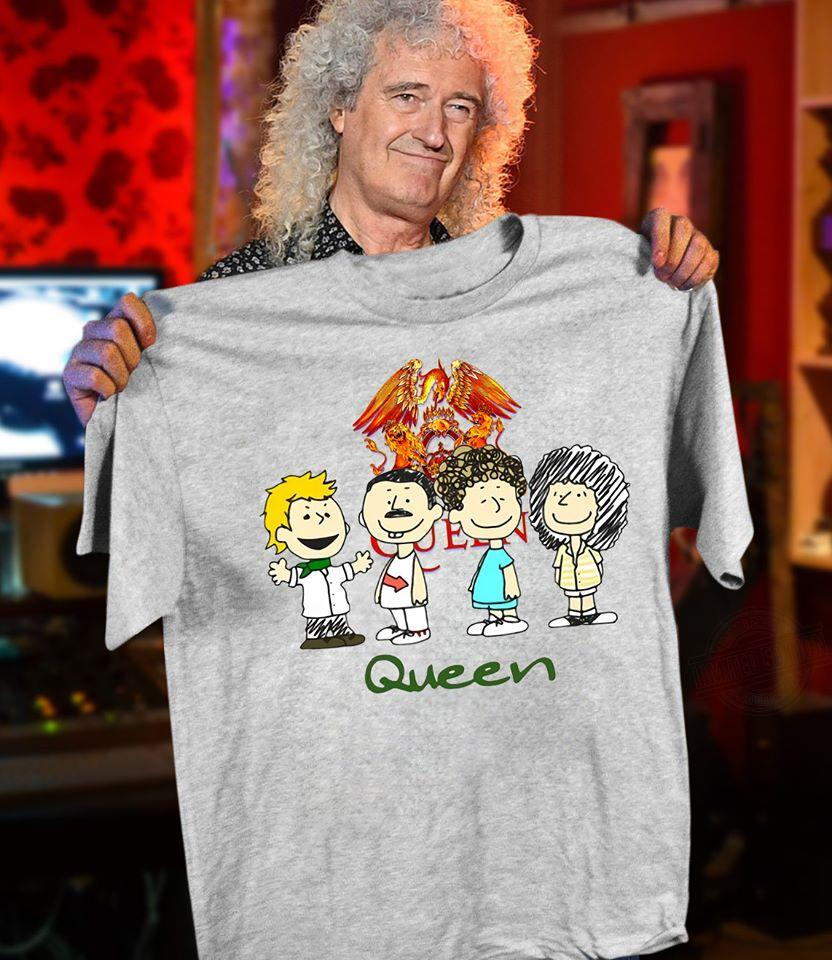 Peanuts And Queen Shirt