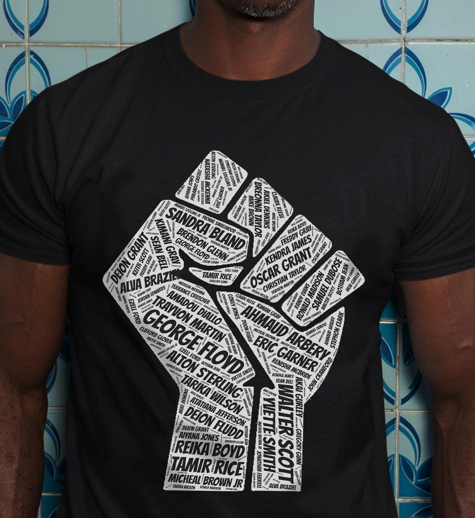 Stand With Black Black Lives Matter Shirt