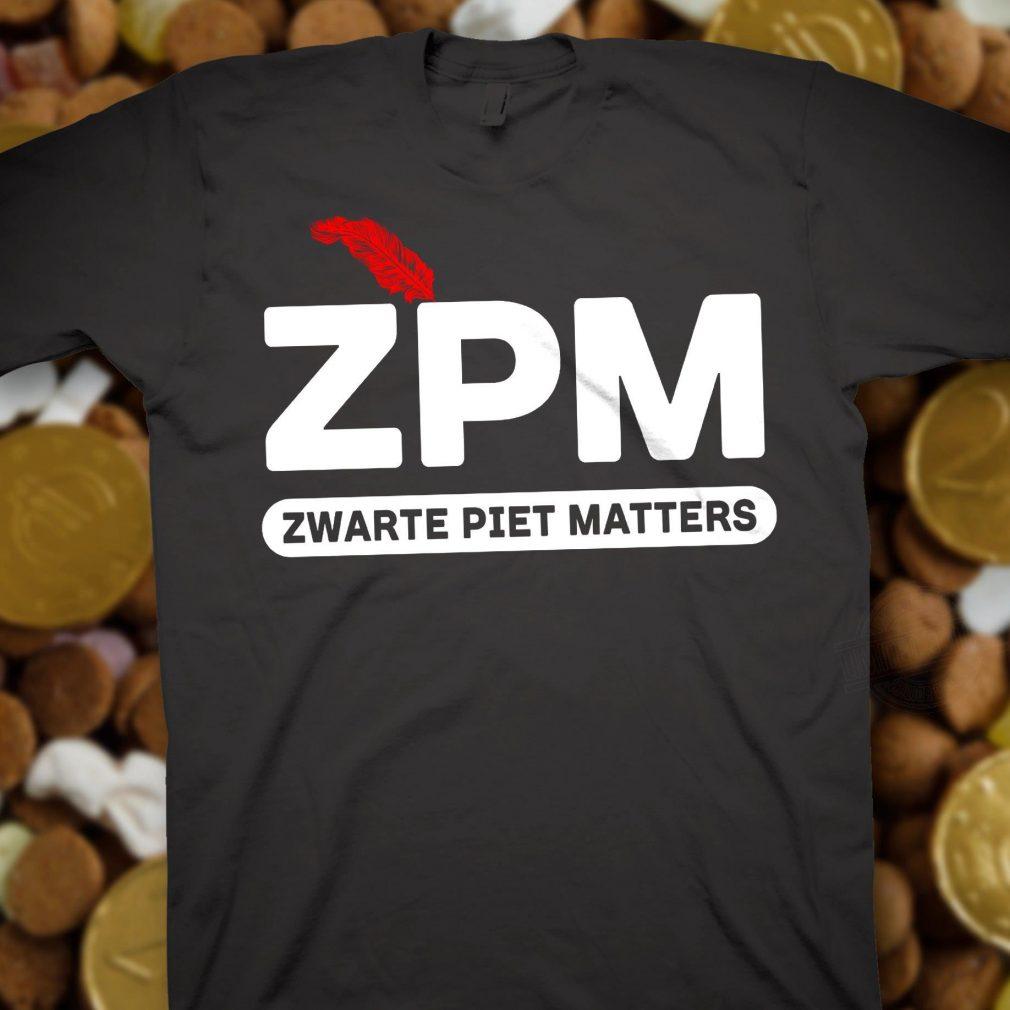 ZPM Zwarte Piet Matters Shirt